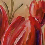 Irish Art, Tulips,