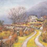 Abandoned Cottage Black Valley