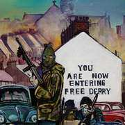 Free Derry Corner in the early 1970s