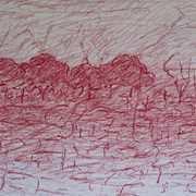 Untitled Landscape on Paper