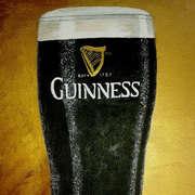 Irish art. A Pint Of Guinness, artist Pauline McCarville, Dublin