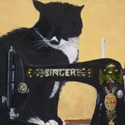 The cat and the singer