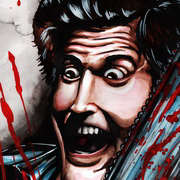 Bruce Campbell as Ash from The Evil Dead