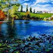 Lilly Pond, Powerscourt