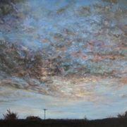 Evening Sky over Monbay, Gorey