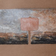 Panel In A Romantic Landscape