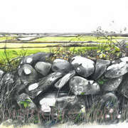 Dry stone wall 2