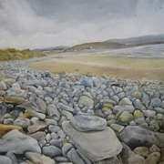 Stoney beach Strandhill