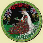 Fairy book illustration