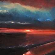 North Atlantic Sunset