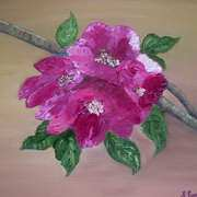 Irish Art, Flowers,