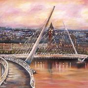The Peace Bridge, Derry