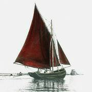 Irish Art, Galway Bay Hooker,