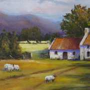 Art 'Kerry Cottages'