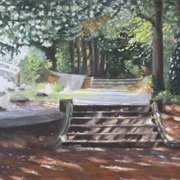 Steps Jenkinstown Woods