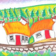 Bendy Irish Cottages