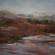 Art 'Lough Inagh Valley, Autumn'