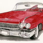 Cadillac 59, Acrylics